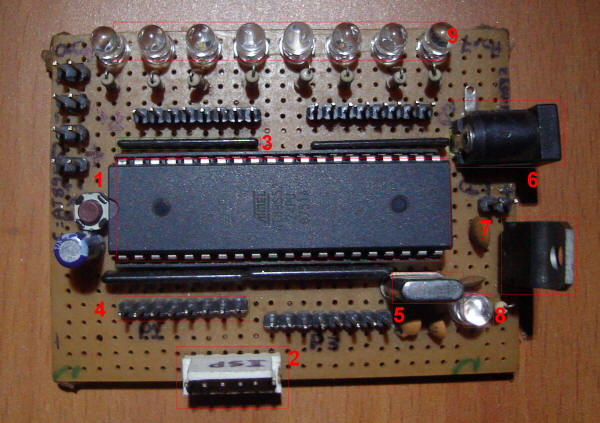 development board illustrated